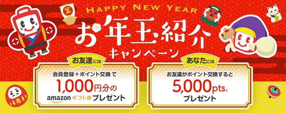 【ECナビ】新規登録&交換でAmazonギフト券1,000円分プレゼント